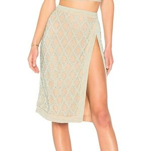 """X by NBD: """"Cool as Ice"""" beaded skirt"""